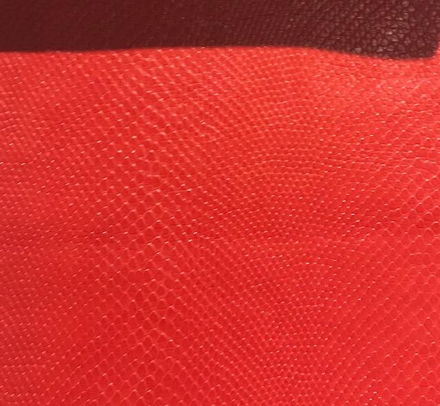 Snake Skin Red