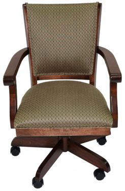 Coco Wood Caster Chair