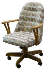 226 Wood Barrel Chair
