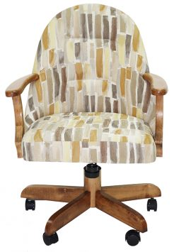 236 Wood Caster Chair