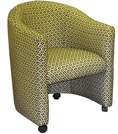 Club Barrel Chair