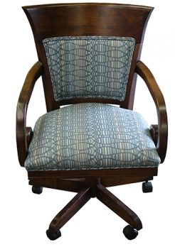 Leaf Caster Arm Chair