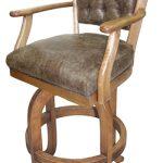 Vintage Melina Wood Stool