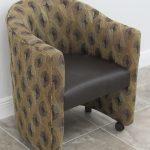 Tobias Designs Club Chair Side