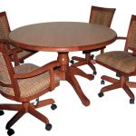 400 Swivel Chairs With 42 Round Wooden Table