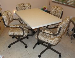 M111 Caster Chairs With Arms