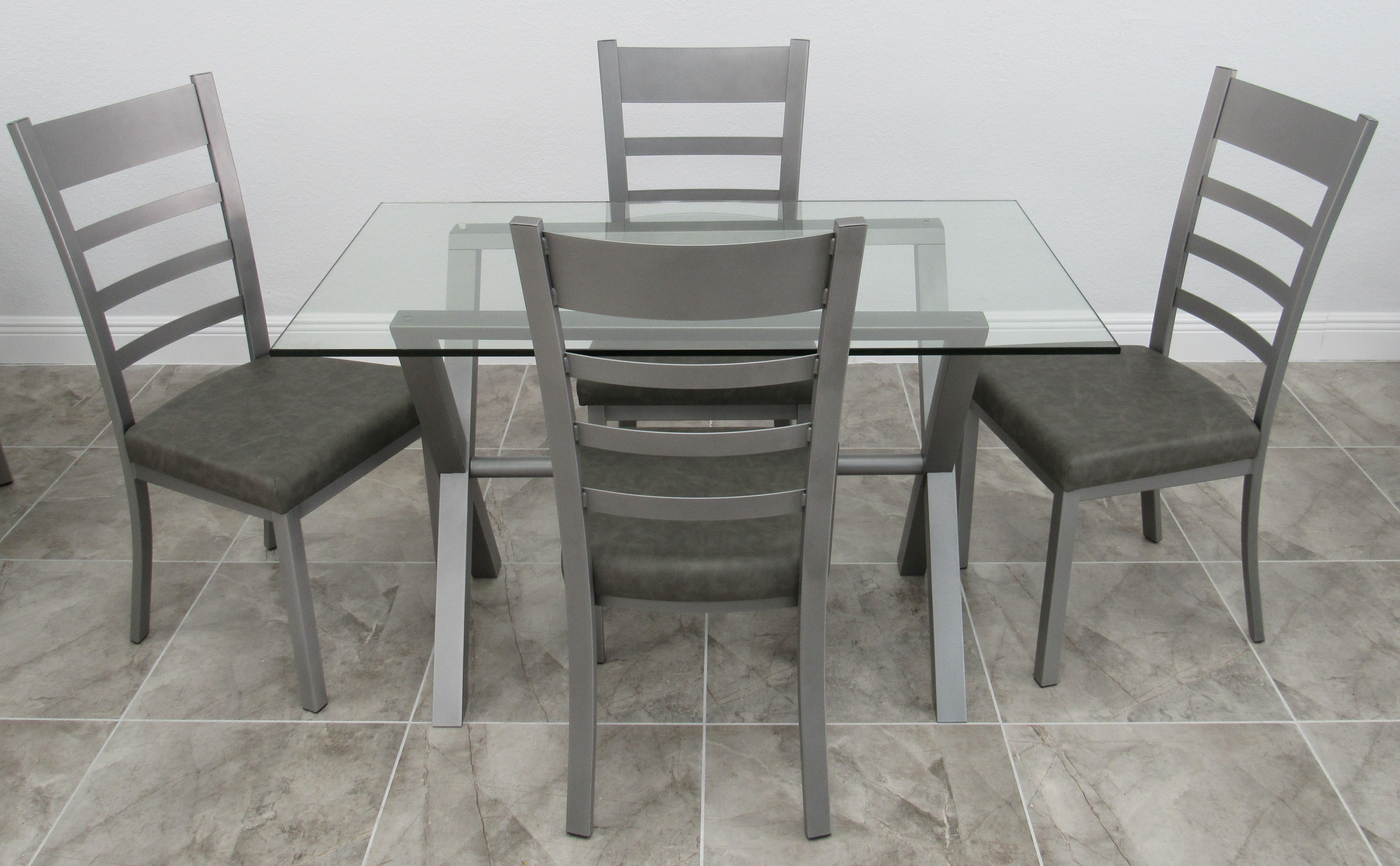 Kitchen Dinette Sets with Glass Tops | Alfa Dinettes