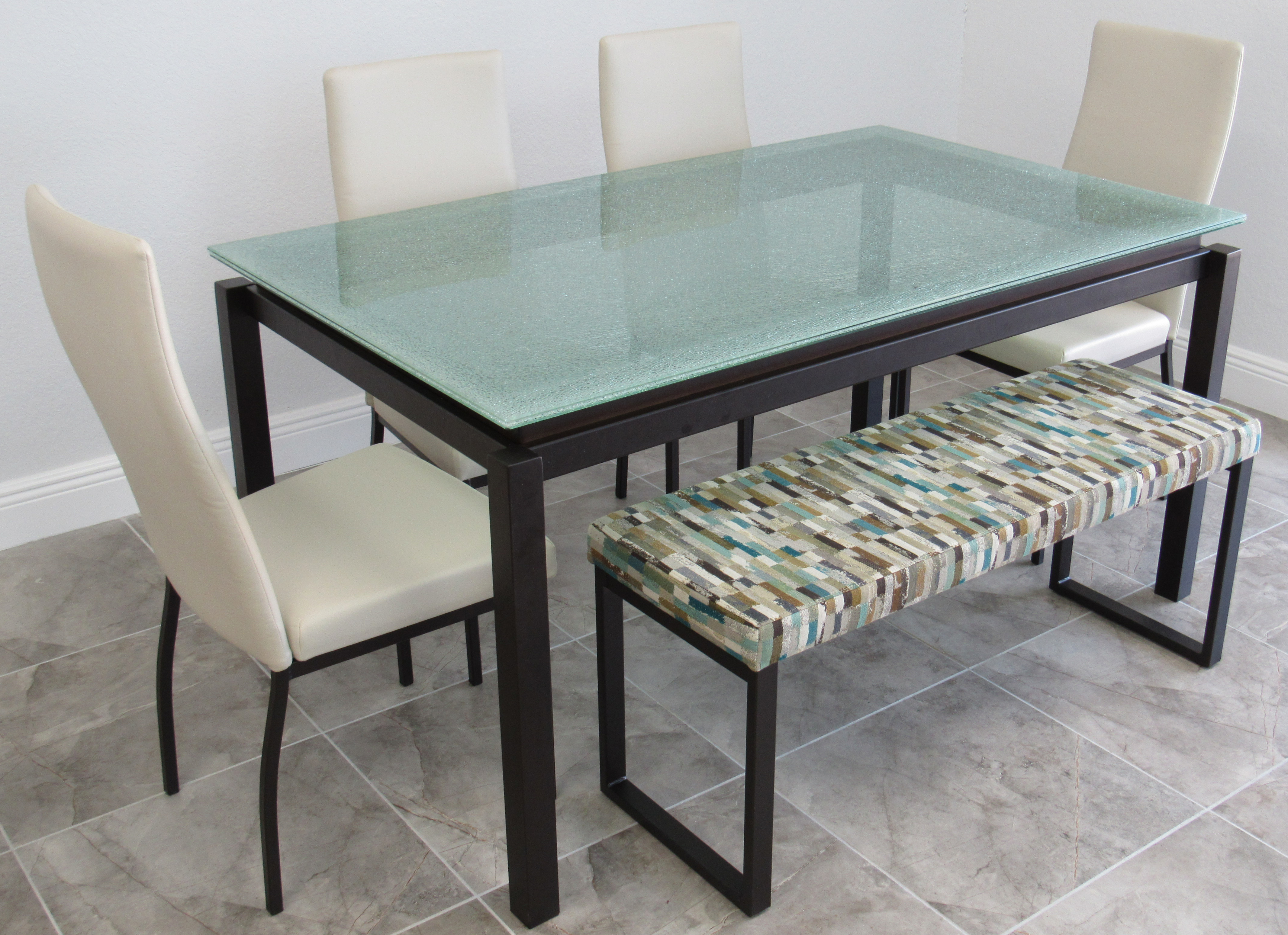 Glass Top Dining Sets | Alfa Dinettes