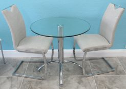 898 Small Glass Table