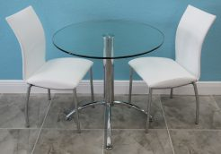 31 Inch Glass Table