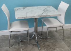 Small Chrome Dinette