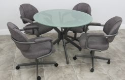M70 Crackled Glass Top