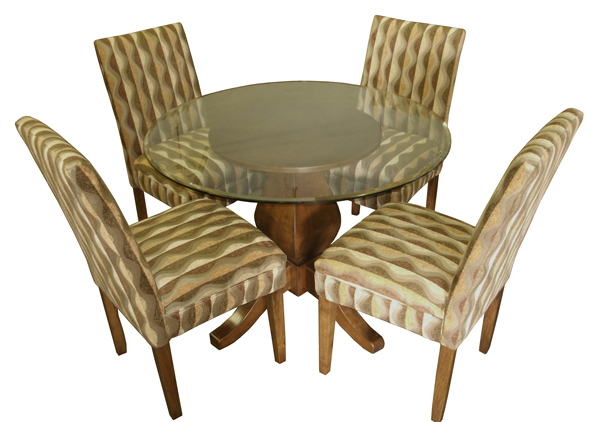 Parson Chairs Wood Legs