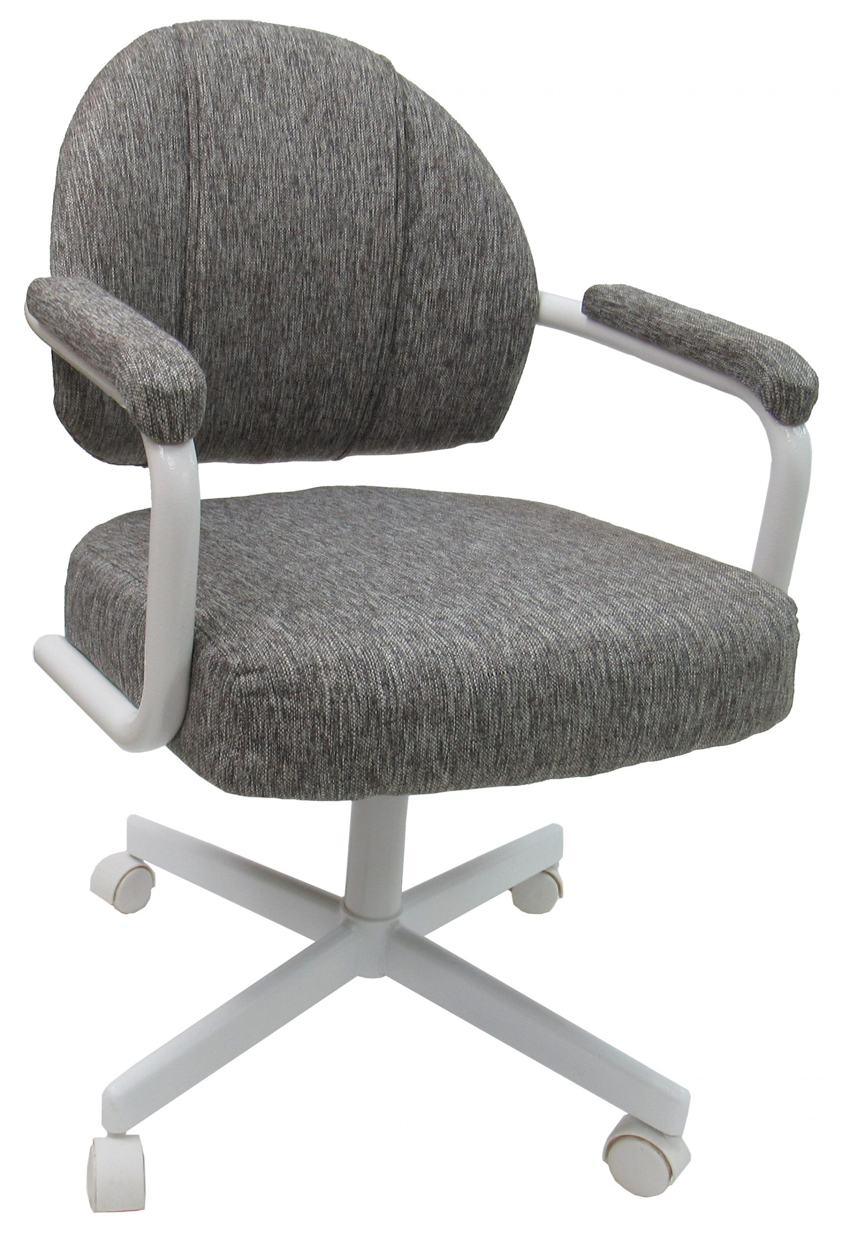 Swivel Caster Dining Chair on Wheels - M70 - Alfa Dinettes