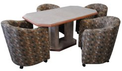 Barrel Chair Dinette