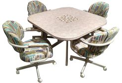 M70 Caster Chairs Dinette