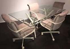 M60 Caster Chairs Dinette
